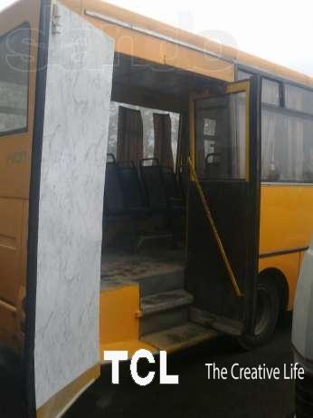 Переоборудование автобусов для перевозки
