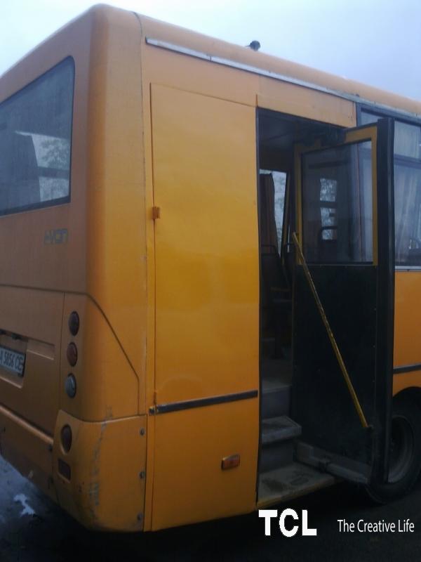 Переобладнання автобусів для перевезення
