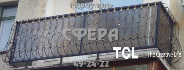 Ограждения балконные и простые из стали