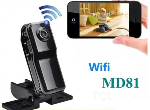 MD81 CMOS P2P Wi-Fi Мини видеокамера