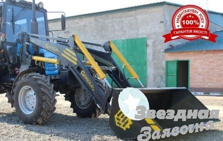 Фронтальный погрузчик КУН GENERAL 1600 к