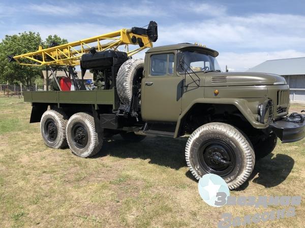 Буровая установка УГБ -1 ВС на базе Зил