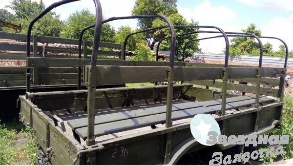 Кузов демонтированный с автомобиля ГАЗ-6