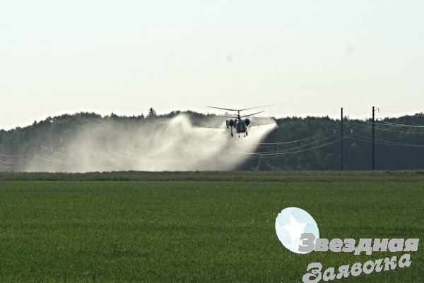 Авіація для рослинництва- вертоліт літак