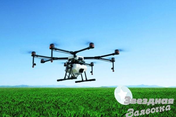 Услуги дрона в сельском хозяйстве