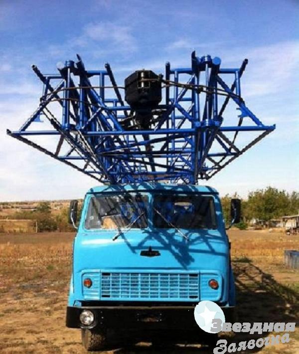 Буровая установка УРБ-3АМ на базе Маза 5