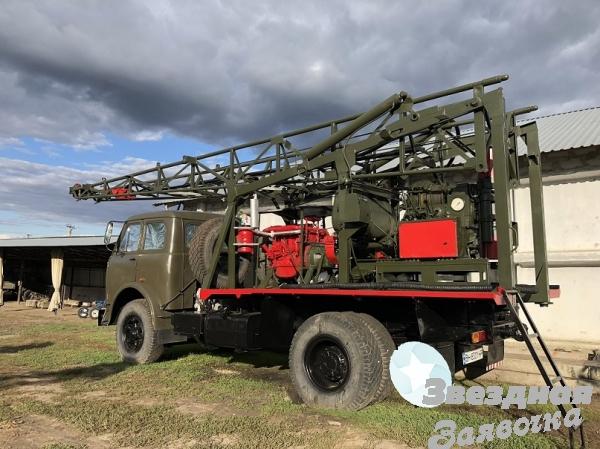 Буровая установка УКБ-500 на базе Маза 5