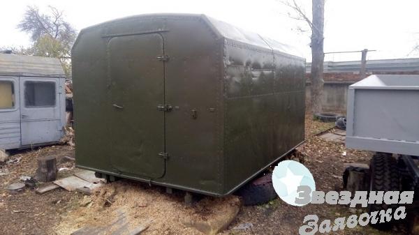 Кунг демонтируемый с автомобиля ГАЗ-66,