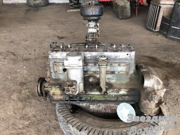 Двигатель ЗИЛ с конверсии все в стандарт