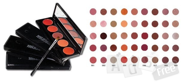 Паллета из 5 помад (5 Lipstick palette).