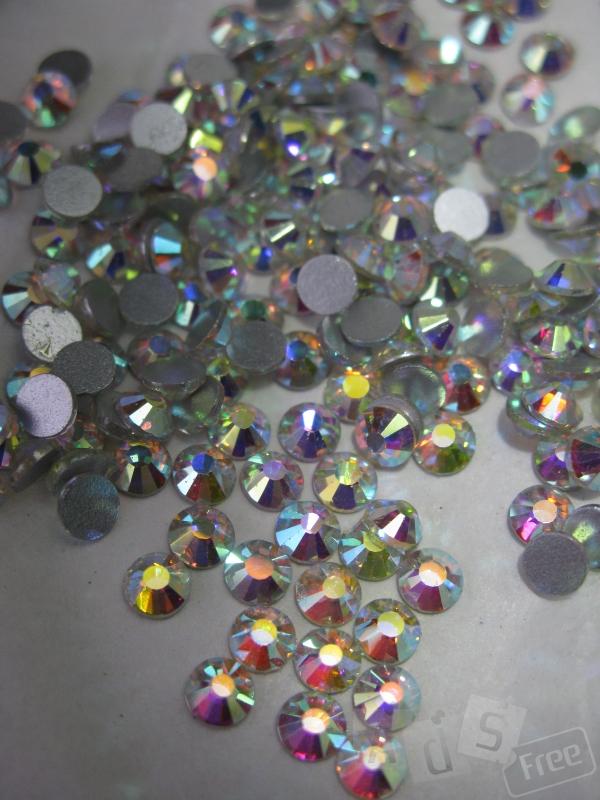 Стразы DMC ss30 crystal AB