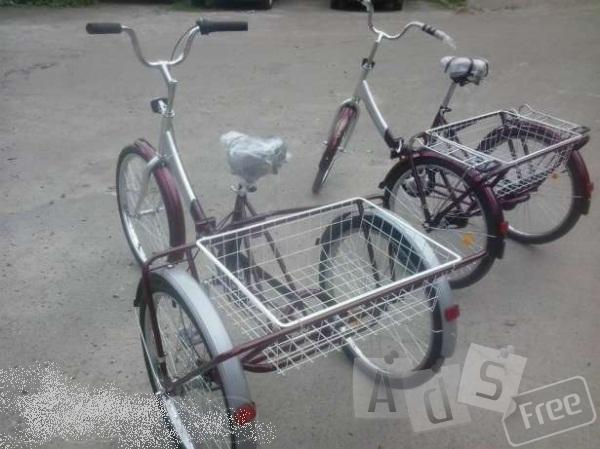 Велосипед трехколесный для взрослых
