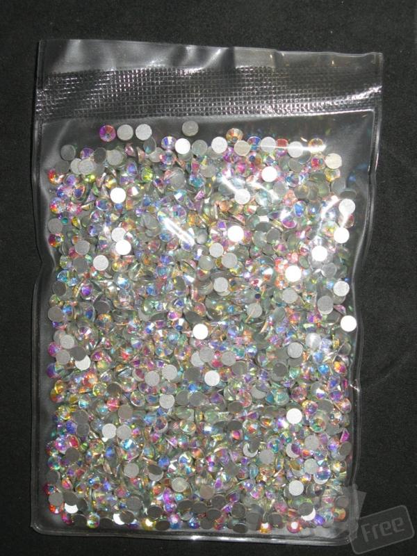 Стразы аналог Swarovski ss16 crystal AB
