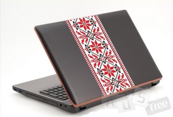 Патріотична наклейка на ноутбук