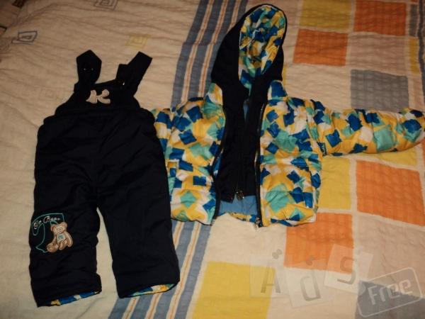 демисезонный костюм, на возраст 1-1.5года