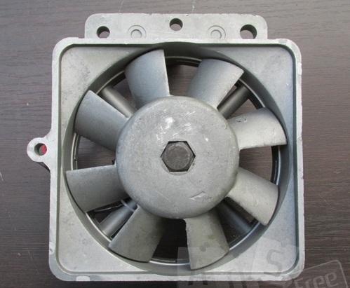 Вентилятор с генератором в сборке к мото