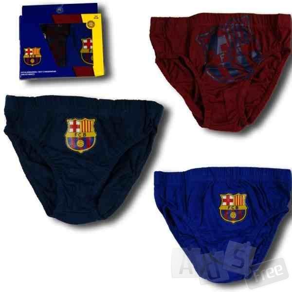 трусики для мальчиков FC Barcelona 3шт
