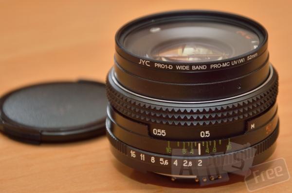 Объектив на Nikon, МС Гелиос-81Н+Одуванч