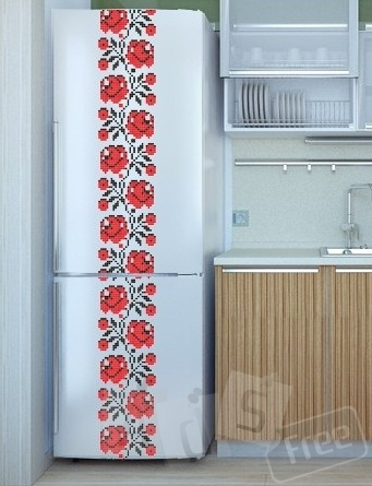 Патріотична наклейка на холодильник
