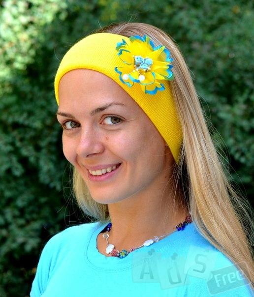 Повязка двойная Украинка