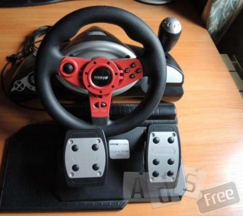 Игровой манипулятор, руль, Easy Touch ET