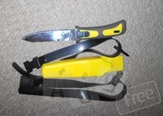 Нож для дайвинга или подводной охоты