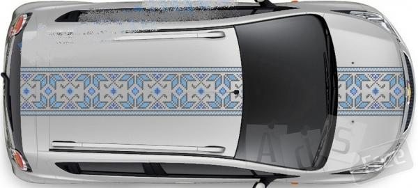 Патриотическая наклейка на автомобиль