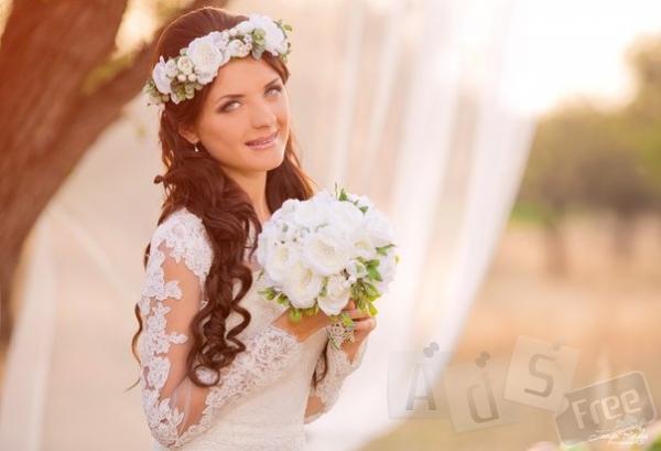 Прически свадебные, вечерние, плетения