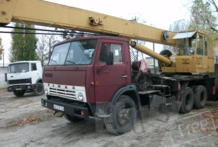 Автокран КАМАЗ 16 т по Киеву и области