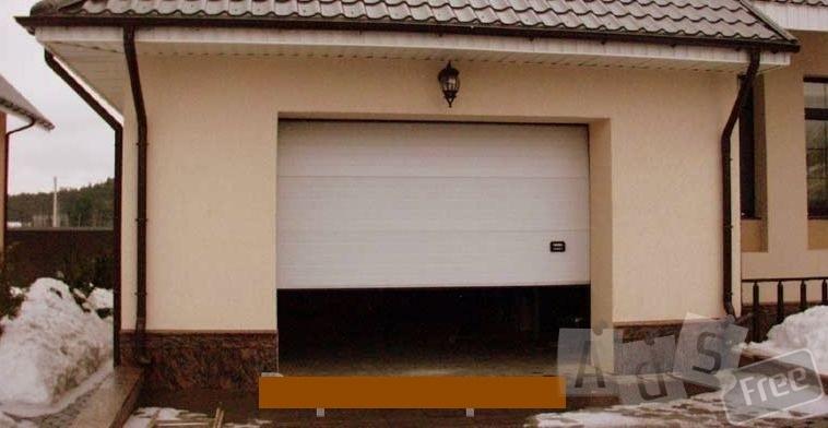 Изготовление гаражных секционных ворот