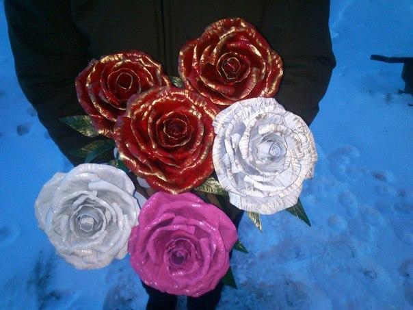 ковані троянди під замовлення