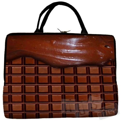Новая сумка для ноутбука в виде плитки шоколада