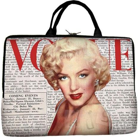 Новая сумка для ноутбука с изображение Мерлин Монро