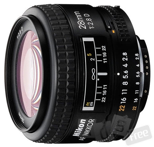 продам объектив nikkor 28mm 2.8d