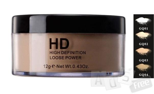 HD Рассыпчатая пудра (HD Loose powder).