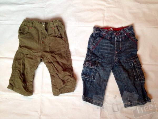 джинсы и вельветовые штаны