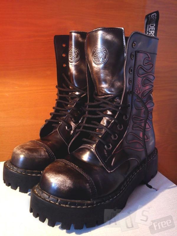 Зимние кожаные ботинки Grinders, новые