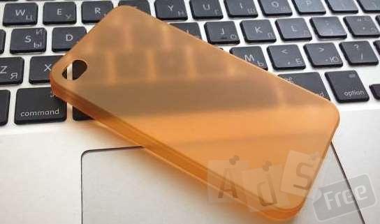 Ультратонкий чохол для Iphone 4,4S 0,3 м