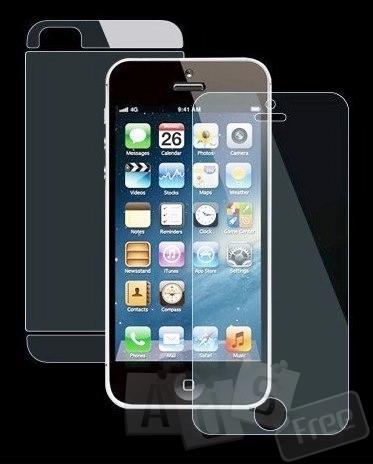 Захисна плівка iPhone 5/5S Front + Back