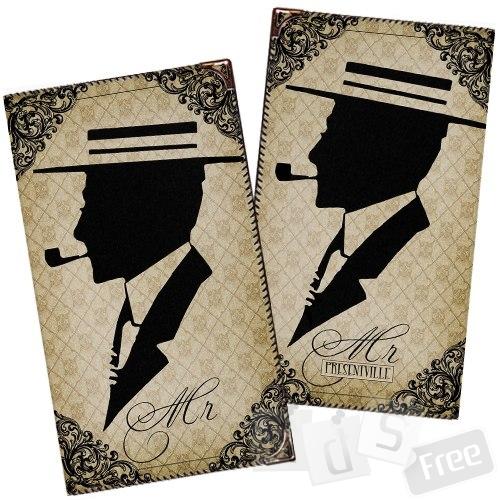 Визитница на 72 визитки