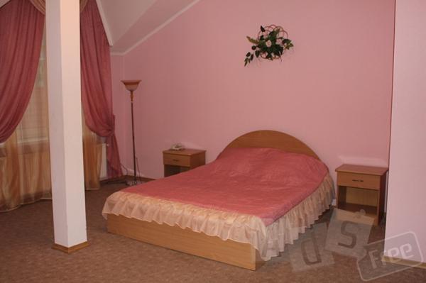 Двухэтажный люкс в гостинице Галант