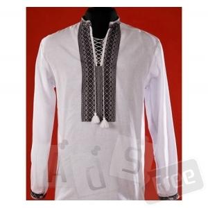 Вышитая рубашка с длинным рукавом