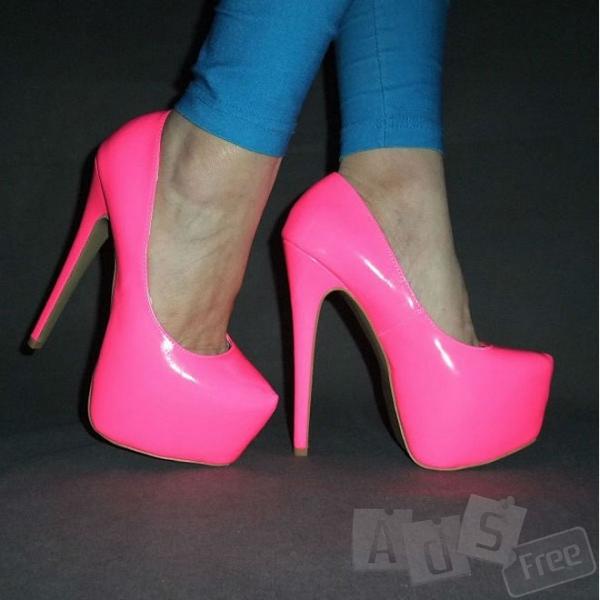 Туфли розовые, конфетные