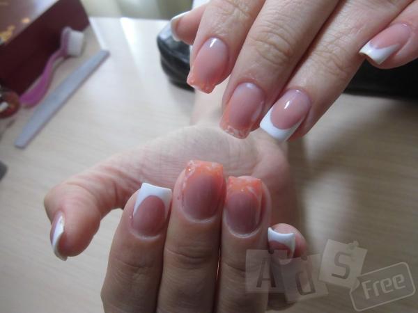 Наращивание ногтей(гелем)