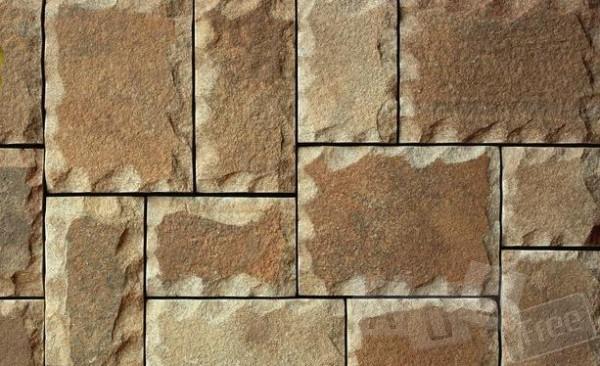 Плитка из песчаника рустованная
