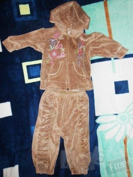 спортивный костюм для девочки велюр