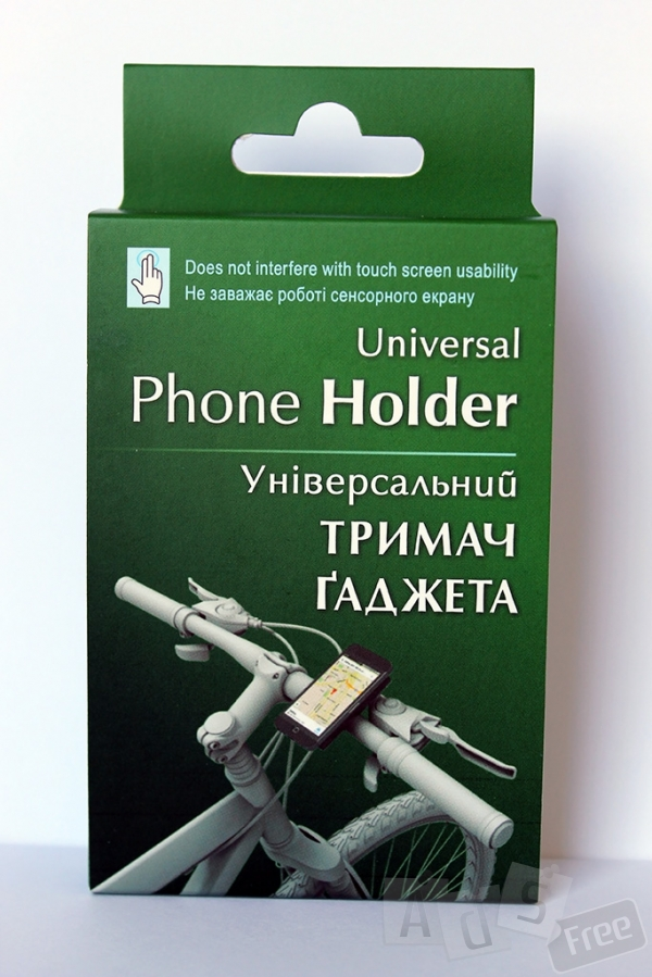Велосипедний тримач для смартфона