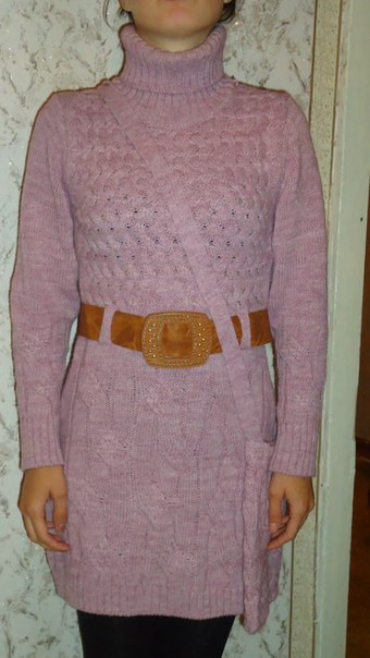 Свитер-платье