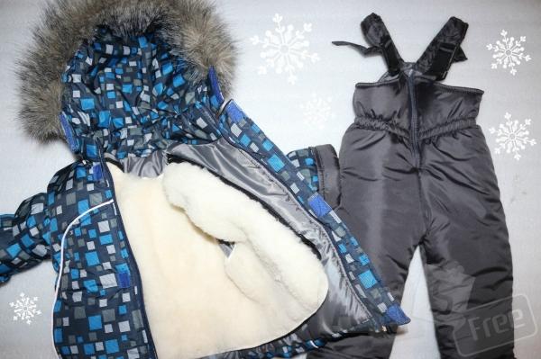 Зимний комбинезон, штаны и курточка жиле