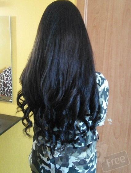 Наращивание волос с гарантией
